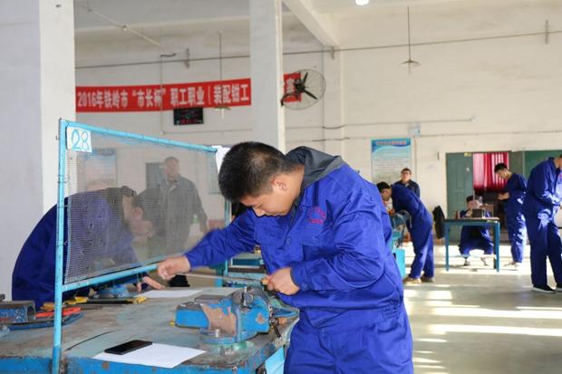 2018年铁岭市中等职业学校学生技能大赛在机械工程系成功举办